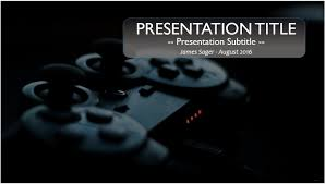 game controller powerpoint template 9822 free powerpoint game