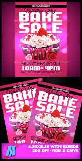 valentines bake sale flyer template bake sale flyer bake sale