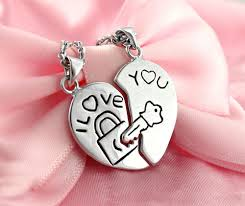 key love necklace images I love you couple 39 s lock and key to my heart necklaces in sterling jpg