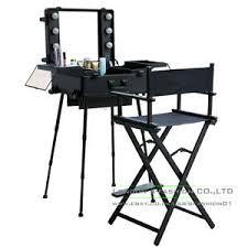 makeup artist light rolling studio makeup artist cosmetic w light leg mirror