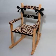 Personalized Kid Chair Personalized Kids Rocking Chairs Neat Stuff Gifts