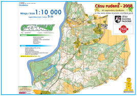 Un Map World Orienteering Cup 2017 In Latvia