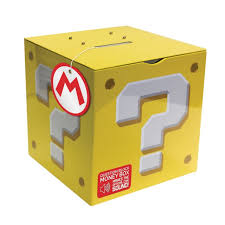 money box mario bros question money box