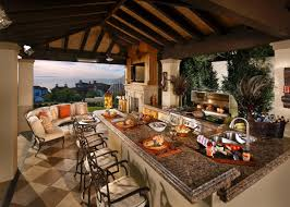 luxurious outdoor kitchens