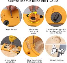 kitchen cabinet door hinge drill bit bi dtool 35mm hinge drilling jig guide woodworking tools for kitchen cabinet doors hinge