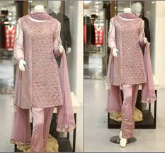 zahra ahmad new party wear winter dresses for girls 2017 2018