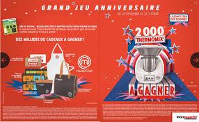 jeux de cuisine masterchef jeu anniversaire intermarché 2017 cartes à gratter 2000