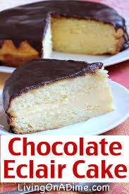 cheeseburger roll up chocolate eclair cake recipe