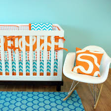 teal crib bedding set total fab blue and orange nursery crib sets u0026 bedding for baby