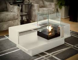 Indoor Fire Pit Coffee Table Coffee Table Fireplace Fireplace Ideas