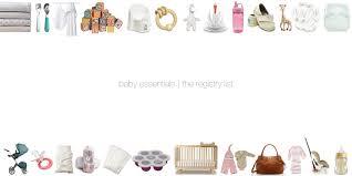 baby essentials baby essentials the registry list kaley