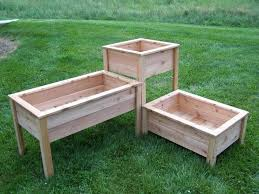 wooden planter boxes also with a tall planters also with a large