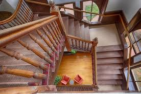 Looking Down Stairs by Uva Brooks Hall Staircase Looking Down Martin Phillips Photography