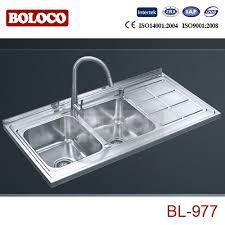 High Quality Kitchen Sinks Italy Matt Bowl Single Drainer Welding Rectangle Square