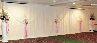 Curtains For Wedding Backdrop Wedding Backdrops Backgrounds Decorations Columns