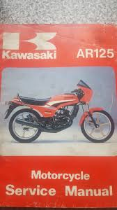 genuine kawasaki ar 125 workshop manual u2022 2 99 picclick uk