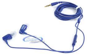 Klipsch Image S4i Rugged Klipsch Image S3m Universal Smartphone Earbuds Headset Monaco Blue