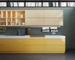 modern yellow kitchen contrast and yellow kitchen cabinet latest kitchen ideas