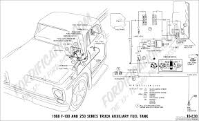 Ford Diesel Truck Fuel Tanks - ford truck technical drawings and schematics section h wiring