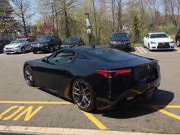 black lexus lfa 326 starlight black lexus of route 10 whippany nj