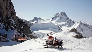 fifty years of heli skiing