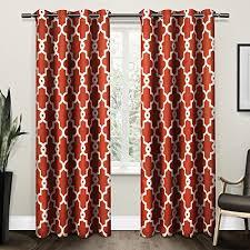 modern living room curtains amazon com