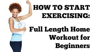 Bedroom Workout No Equipment How To Start Exercising 20 Minute Full Length Workout At Home For