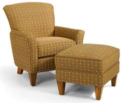 Accents Chairs Flexsteel Accents Dancer Chair U0026 Ottoman Set Wayside Furniture