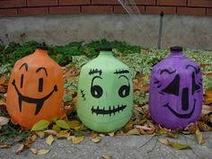 Halloween Decorations Using Milk Jugs - 37 awesome crafts using milk jugs halloween face holidays