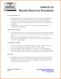 general job objective for resume examples career objective resume