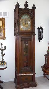 waltham grandfather clock