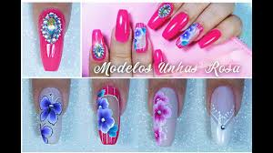 Nail Decorations Step By Step 5 Pink Nail Decorations One Stroke Lace Starter