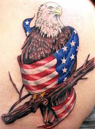 american flag tattoos the finest american patriotism tattoos