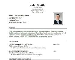 resume formats exles resume format and exle exles of resumes