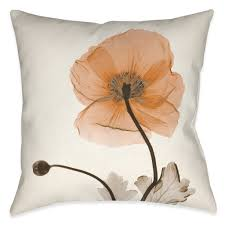 poppy harvest x ray indoor decorative pillow u2013 laural home