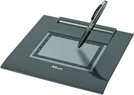 design tablet trust stylus graphics tablet grey co uk computers