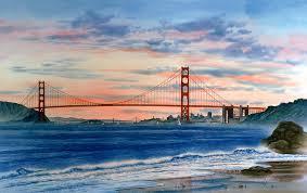 golden gate bridge painting krogen co