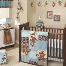 Crib Bedding Monkey Fancy Monkey Crib Bedding For Boys M95 About Home Interior Ideas