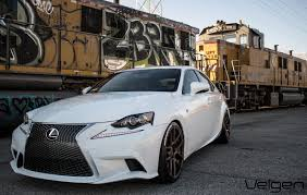 lexus is350 f sport custom lexus is350 f sport velgen wheels vmb5 bronze 19x9 u0026 19x10 5