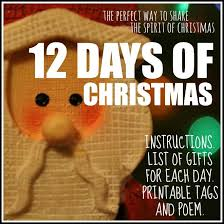 12 days of christmas an amazing tradition for the whole family