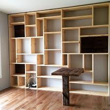 Simple Wooden Shelf Design by Best 25 Bookshelf Design Ideas On Pinterest Minimalist Library