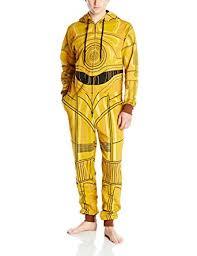 wars jumpsuit wars c 3po gold jumpsuit large at amazon s