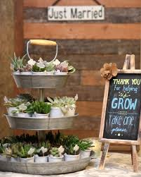 country wedding favors 105 creative succulent wedding decor ideas page 7 hi miss puff