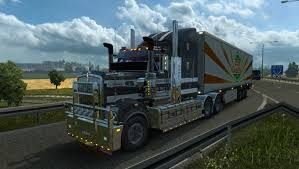 kenwood w900 kenworth t908 mod for ets 2