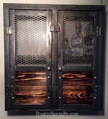 Rustic Cabinets Liquor Cabinet Wine Rack Rustic Cabinet Industrial Liquor