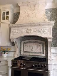 modern kitchen hoods custom stone kitchen hoods bt arch stone