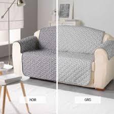 protège canapé protège canapé 223 x 179 cm kiria deux coloris achat et vente