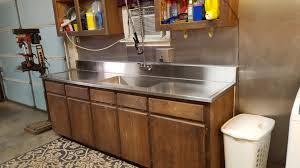 Kitchens With Stainless Steel Countertops Custom Stainless Steel Residential Countertops Lexington Sc