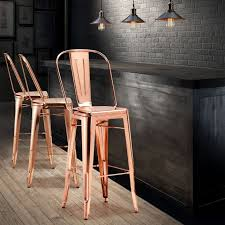 Metal Bar Chairs Best 25 Copper Bar Stools Ideas On Pinterest Copper Stool
