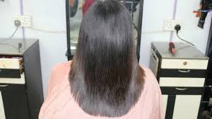 back of hairstyle cut with layers and ushape cut in back u shape layer cut indra gurung youtube